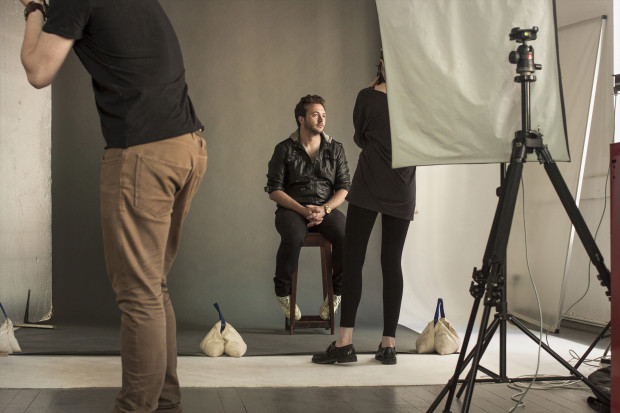 Behind the Scenes of Fokofpolisiekar's Rolling Stone photoshoot (November 2013)