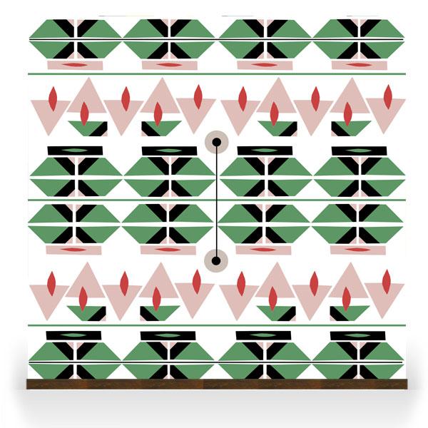 'Liquorice' pattern range by Renee Rossouw