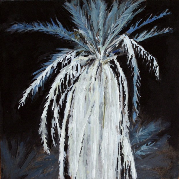 'Nighttime King Palm' by Daniella Mooney