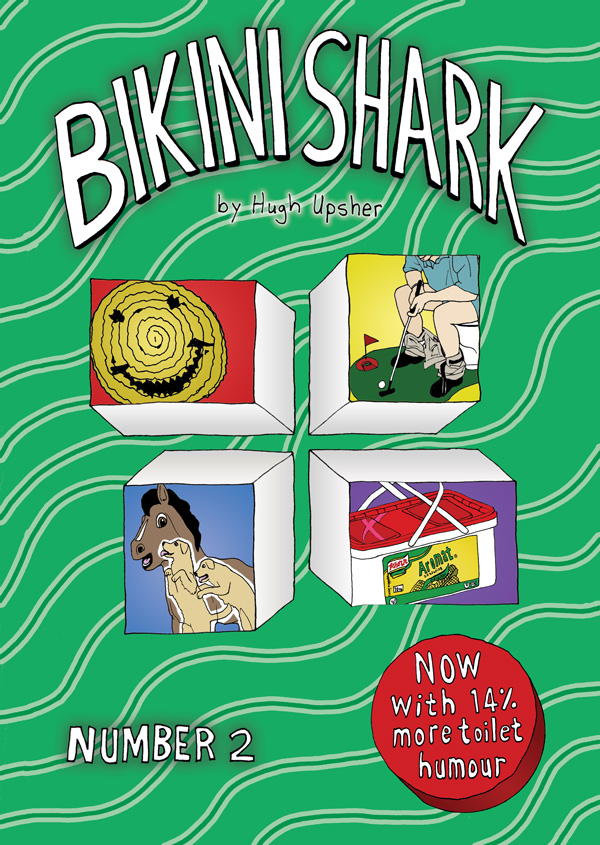 Bikini Shark by Hugh Upsher (1)