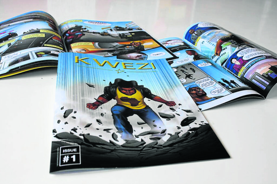Kwezi: a new South African super-hero PICTURE SUPPLIED