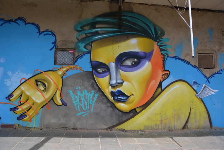 Rasty Knayles graffiti
