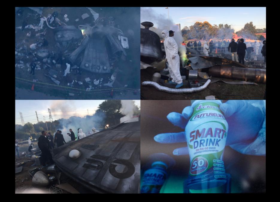 Site Crash #UFOSA, Sandton, Johannesburg, South Africa [2][3]