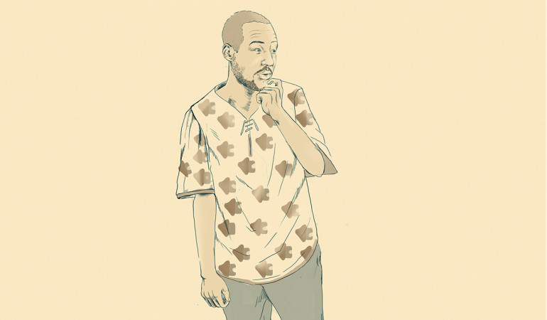 30 Illustrated Portraits in 30 Days by Musonda Kabwe