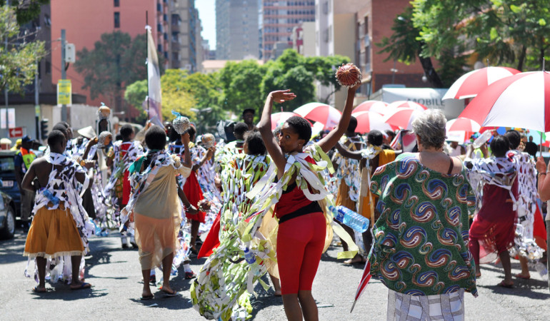 Art takes to the streets for the first Hey Hillbrow Let's Dlala! festival