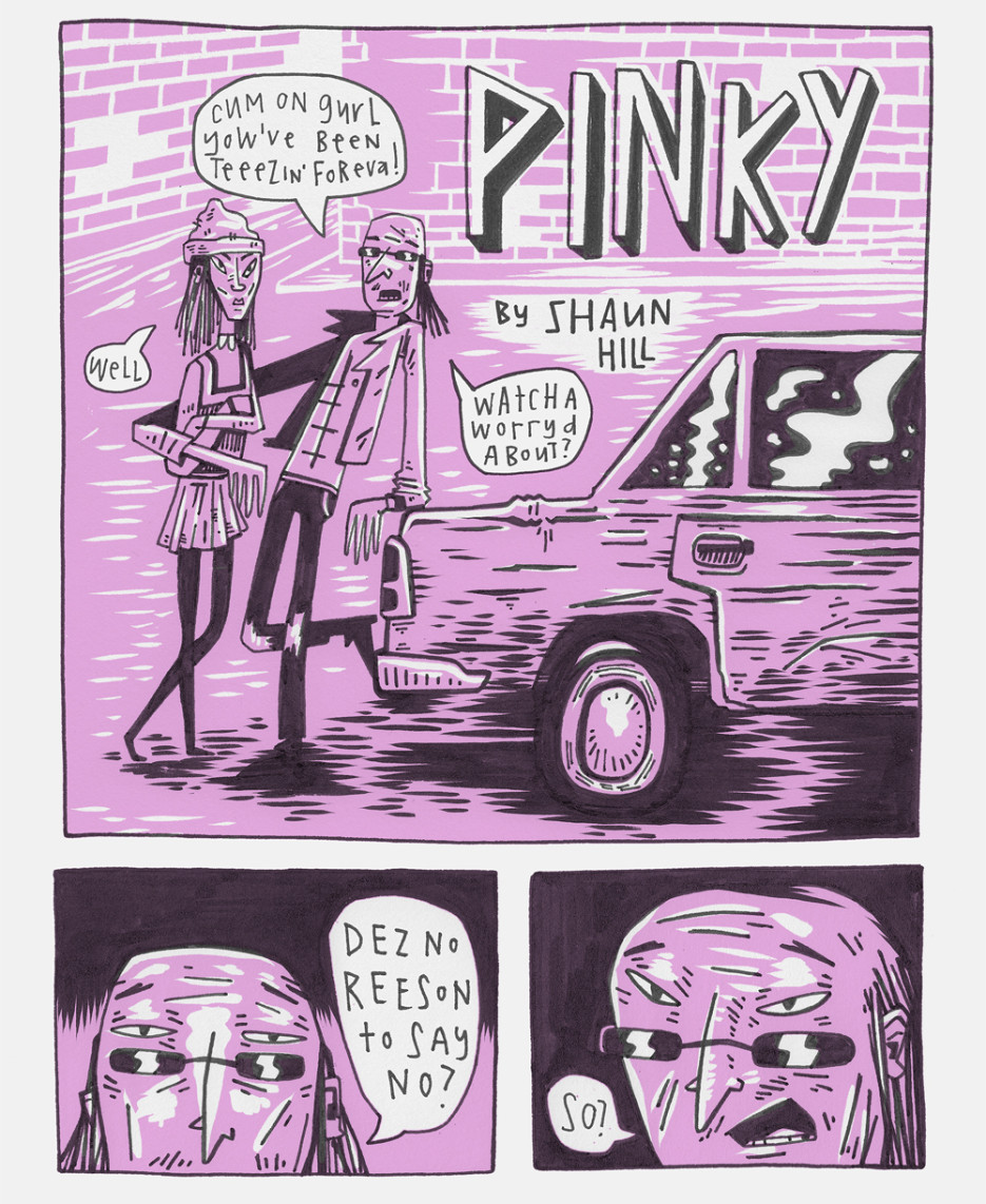 Pinky (comic) by Shaun Hill (1)
