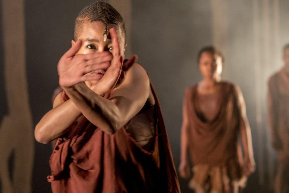 SIVA, choreographed by Luyanda Sidiya, winner of the Standard Bank Young Artist Award