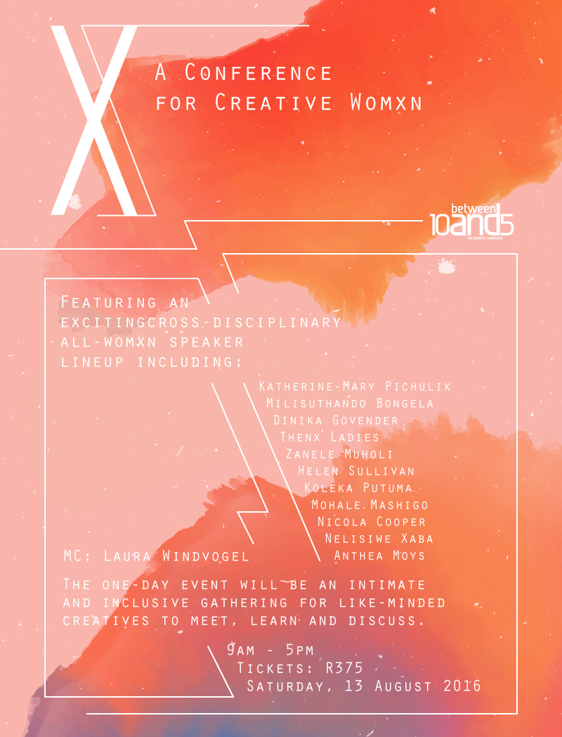 10and5 Creative Womxn Conference 2016