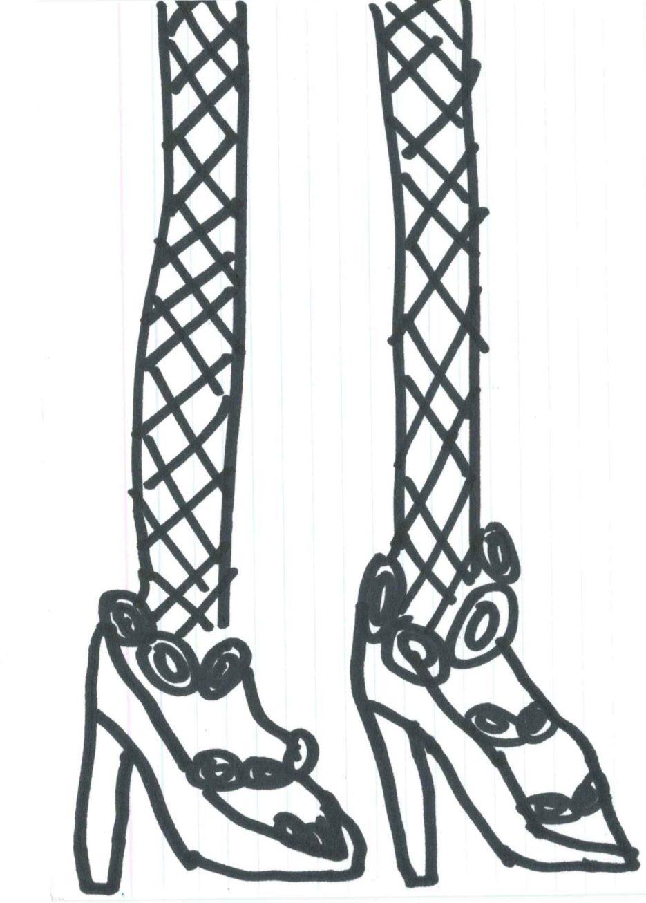 Shoes, by Georgina