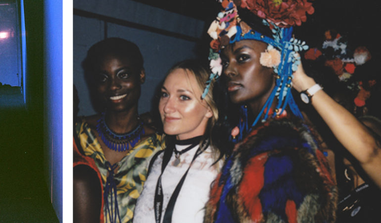 See backstage at Mercedes-Benz fashion week through the lens of Mandy Nash