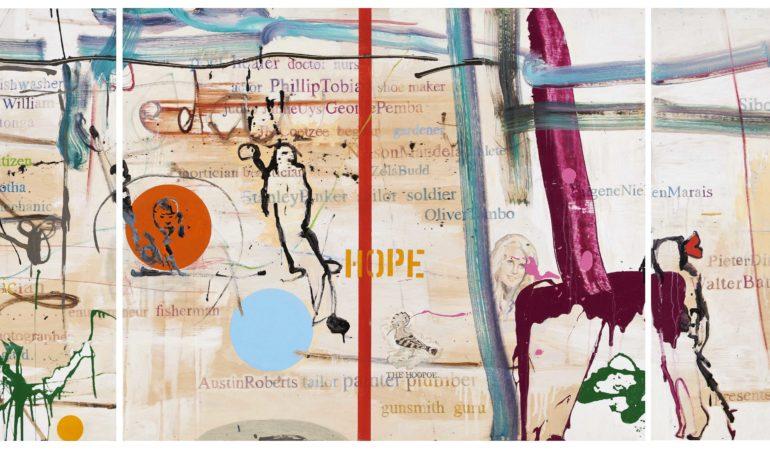 16. Wayne Barker work exhibited at Nando's Central Kitchen, Johannesburg