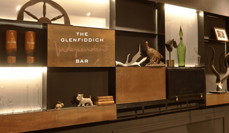 The Glenfiddich Independent Bar: An elegant new space with cocktails to match