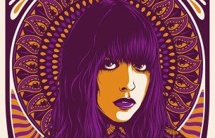 Simon Berndt's gig posters invoke psychedelic rock-era art