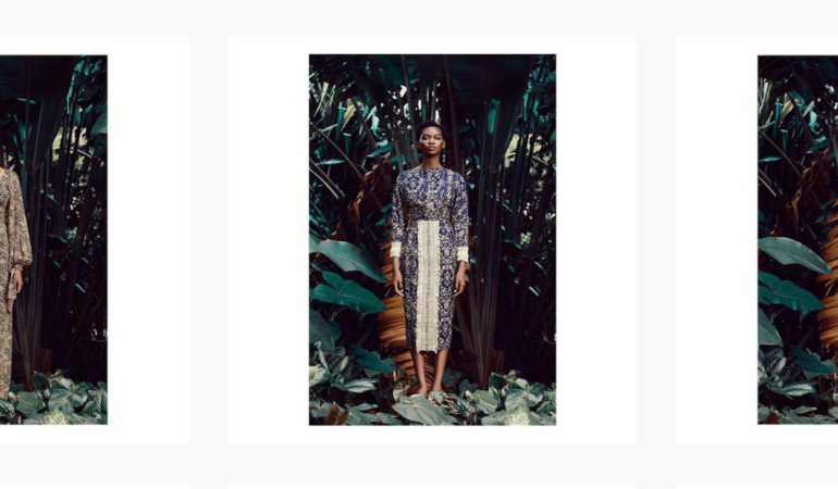 Taibo Bacar's latest lookbook is a gorgeous ode to his Mozambican heritage