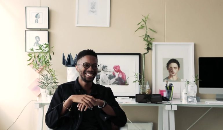 Video: Bridging the gap between fine art and illustration with Banele Khoza