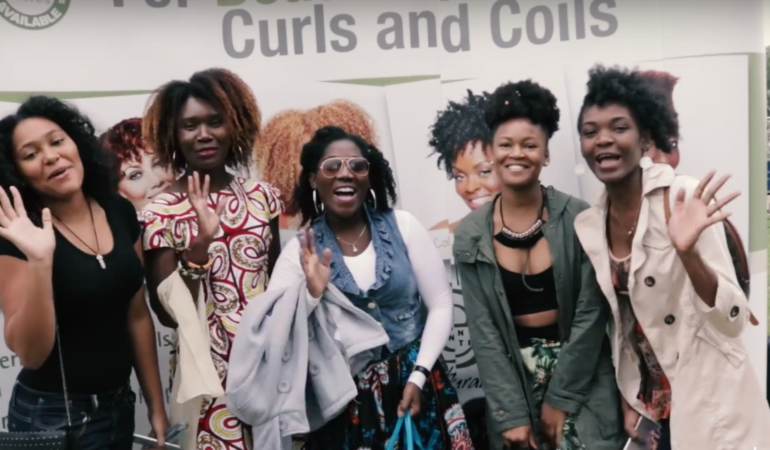 Video: Celebrating fros, braids, locs and more at Joburg's first-ever natural hair festival