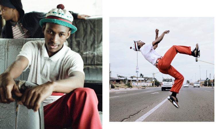 Spotlight: Photographer Lesedi Mothoagae and choreographer Teboho Diphehlo get down with pantsula