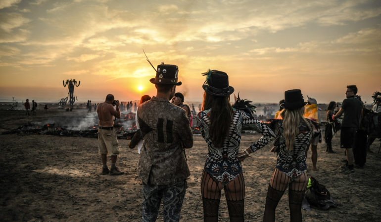 Desert dancing: Afrika Burn 2017 in photographs
