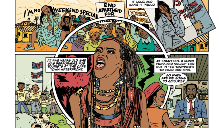 'Powerful, provocative, political' – Lauren Beukes and Anja Venter talk creating new Brenda Fassie comic