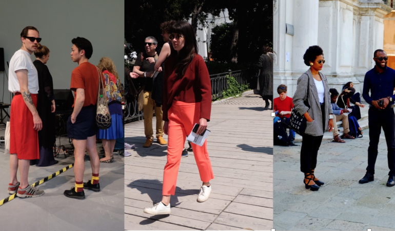 Street style: Art crowd fashion at Venice Biennale 2017