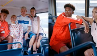 True stripes: 10and5 creates bold new adidas lookbook shot by Cape Town creative duo