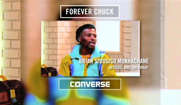 Soul foundation: Meet social entrepreneur Brian Mokhachane, star of the Converse 'In My Chucks' campaign