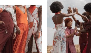Rising fashion star Thebe Magugu talks us through his latest lookbook