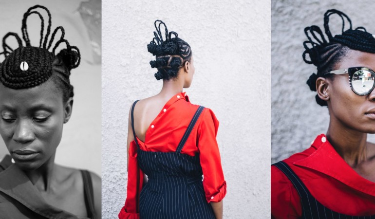 Video: Style maverick Kwena Baloyi shares the process of braiding the perfect crown
