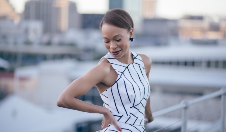 King Kong star Nondumiso Tembe talks Miriam Makeba, playing a badass and reimagining Sophiatown  | Creative Womxn 2017