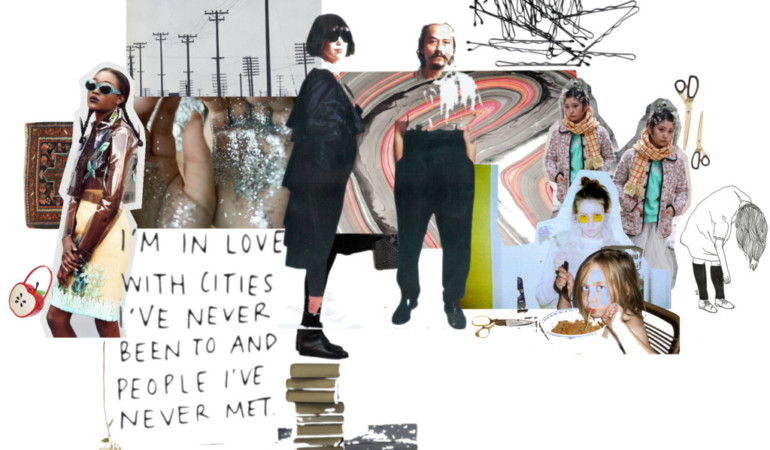Joburg artist Daisie Jo takes over our Instagram with provocative collages tackling digital chaos