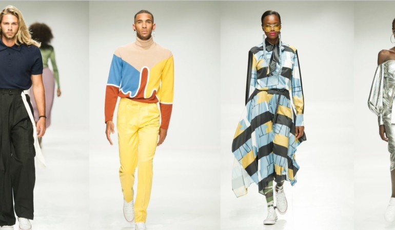 Pastels, pleats and pure magic! Rich Mnisi's latest collection shines at #SAFW 2018