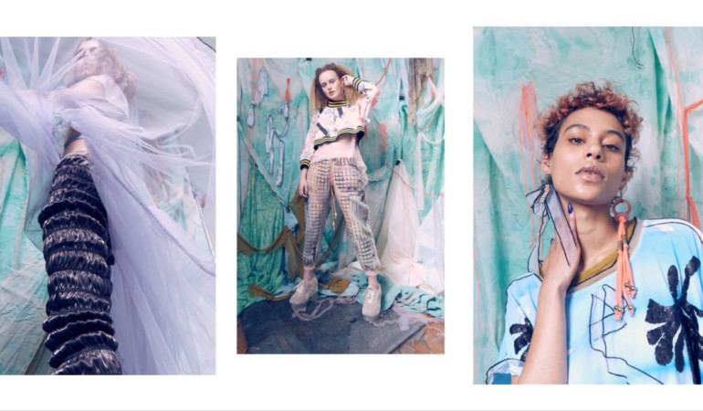 Cape Town brand W35t drops whimsical lookbook that looks like art
