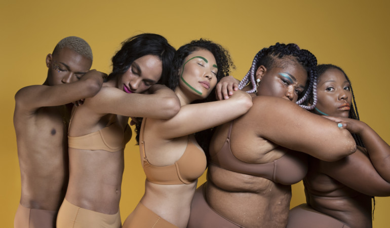 Go newd! Our faves show why inclusive underwear matters in our new body positive campaign