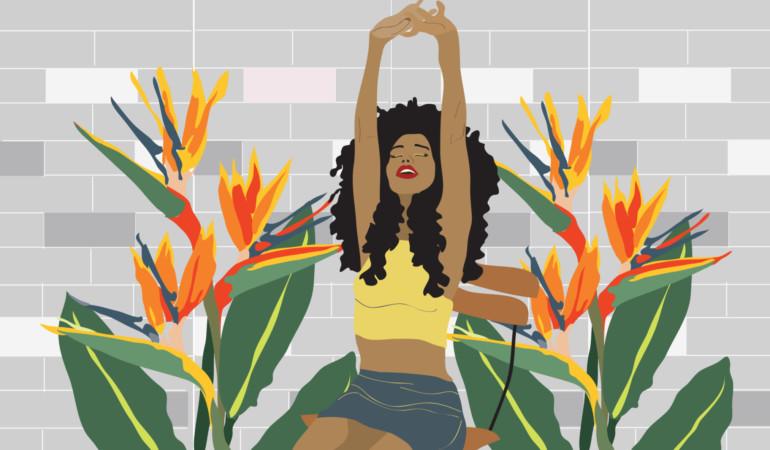 Illustrator Phathu Nembilwi uses language of design to celebrate women