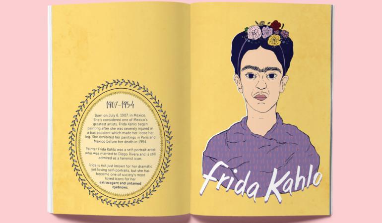 Fleeked! Pretoria illustrator creates a zine of icons with 'untamed eyebrows'