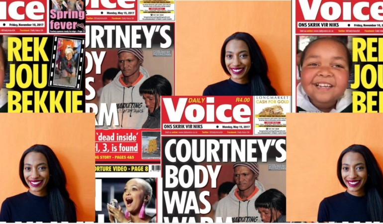 Christina Pitt – The journalist tackling media's biased reporting on coloured communities
