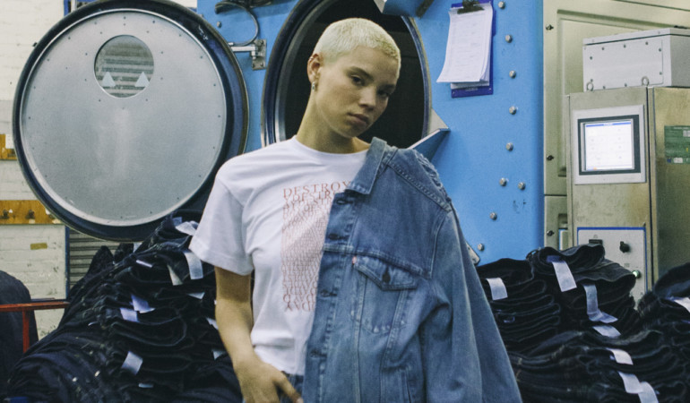 Destroy Today – Brands Levi's and Sol-Sol collaborate on fresh collection and lookbook
