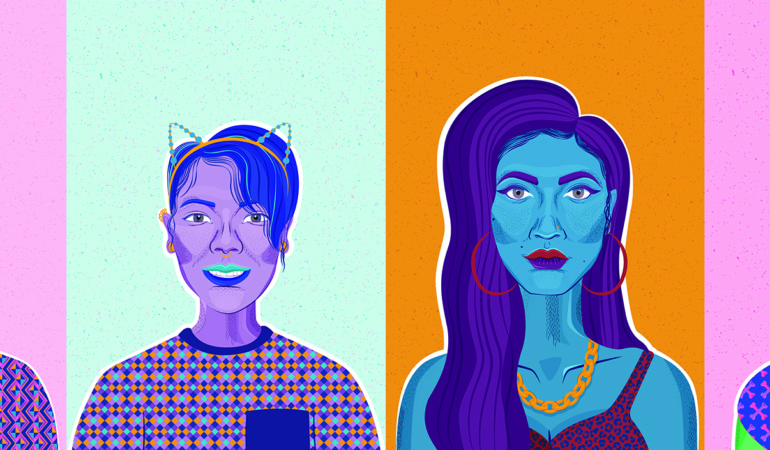 Graduate Maxine Naidoo illustrates identity and individuality in vivid new series