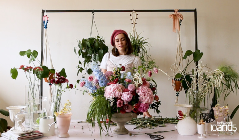 Making with flowersmith and Botanicus founder Jonette Engelbrecht – Video