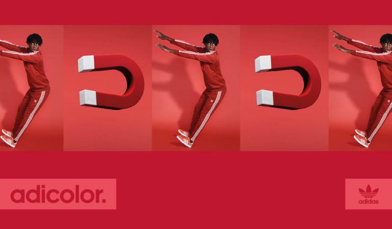 adidas Adicolor: RED