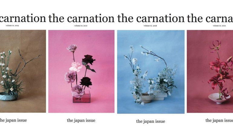 The Carnation: The new zine intertwining photography and floristry ?