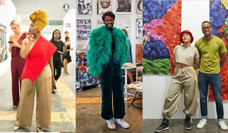 Gallery: Art meets fashion at Cape Town Art Fair 2018