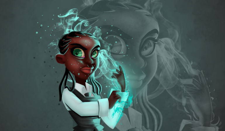 Limpopo animator Cyzo explores futurism/feminism in Black Snow series