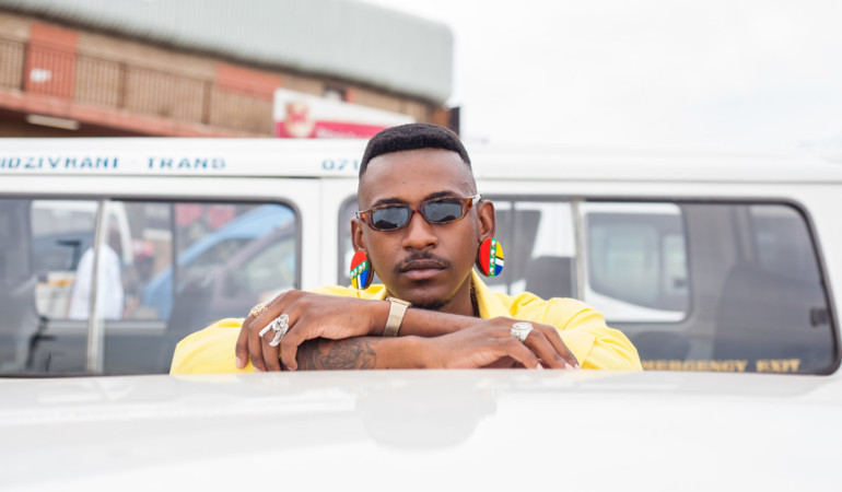 Zulu chic! Rapper Nkabi and photographer Tshepo Rancho collab on new photo series