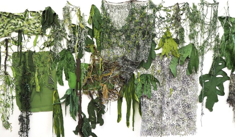 Fake ferns ? Gabrielle Kruger disrupts art world with new show