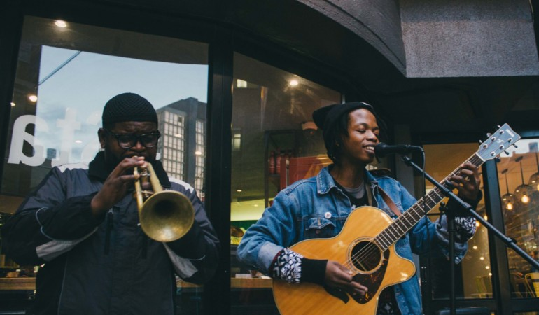 Shima, the Joburg-based guitarist and vocalist making music to relax to