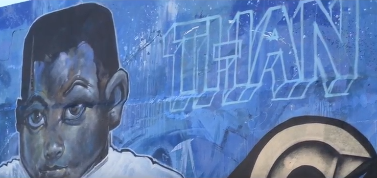 Water Into Gold – Public mural highlights Cape Town's water crisis