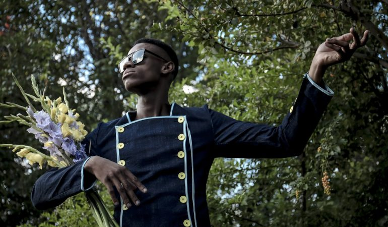 Floral Anointing – A Fashion Photo Series by Katlego Edgar Magano