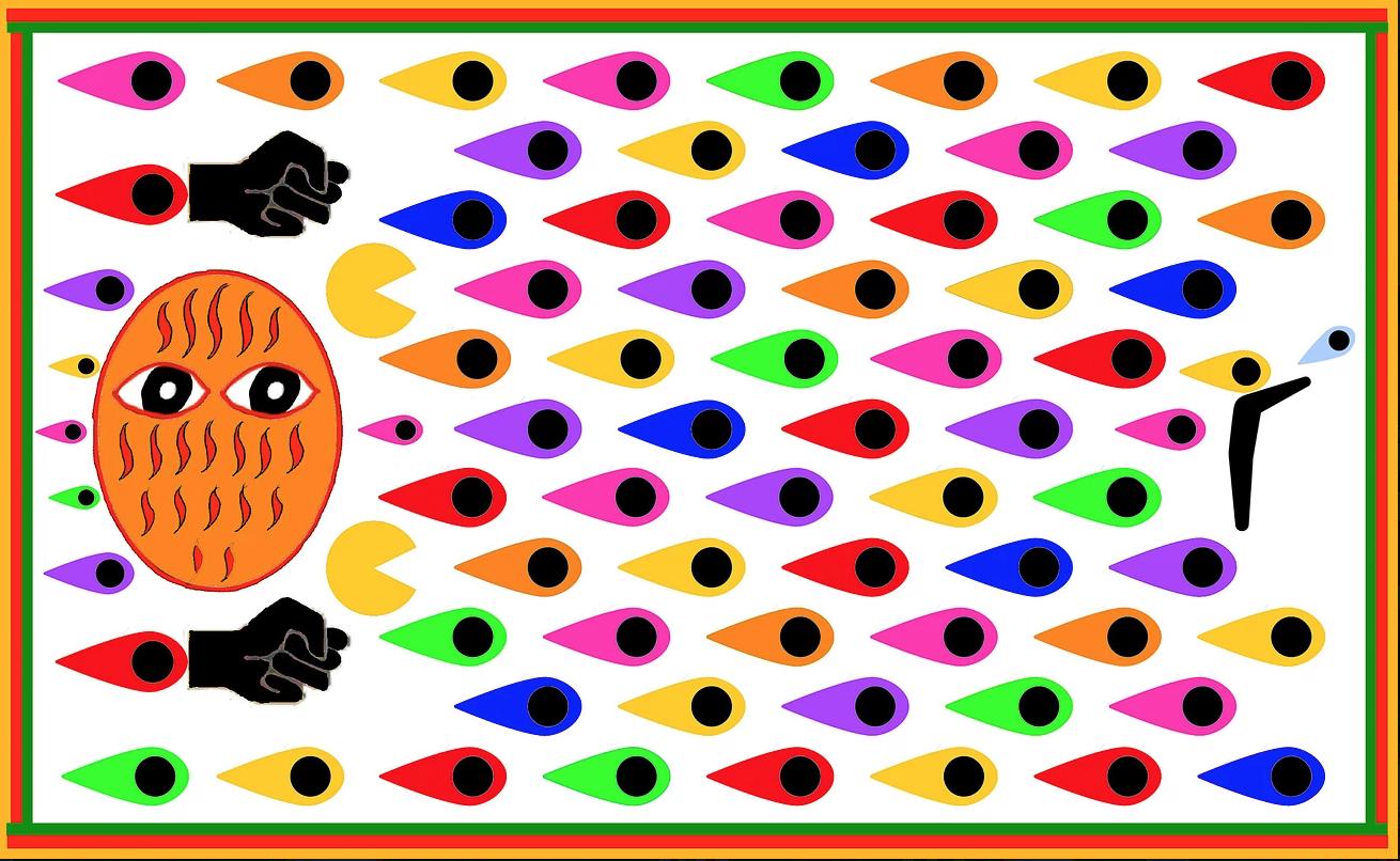 Afrofuturism Art Piece by Emo de Medeiros