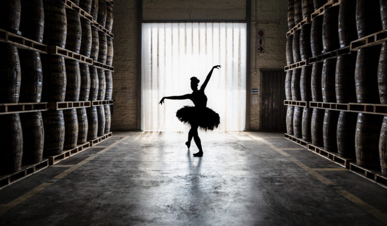 Kitty Phetla Dances In Three Ships Brand Video